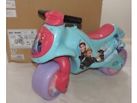 BRAND NEW Disney Frozen RIDE ON BIKE - Foot to Floor Type - 25 Kg Max Weight