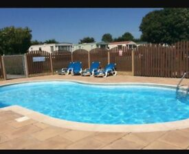 Pembrokeshire holiday caravan to rent