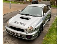 Subaru, IMPREZA, Saloon, 2002, Manual, 1998 (cc), 4 doors
