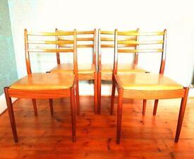 Vintage G Plan Mid-Century Teak Dining Chairs