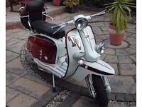 Old 60's Mod wants to restore his last Lambretta Scooter. Up to £3000 for right machine.