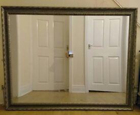 "MIRROR - Antique style frame, large, 136cm x 107cm (54"" x 42"")"
