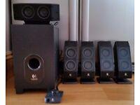 Logitech X-540 5.1 Speaker System