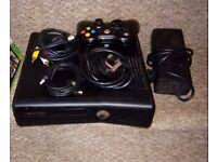 XBOX 360 250gb Console & Games