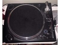 2 x Numark TT 1625 Turntables.