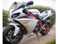 Yamaha R1 big bang 2010 limited edition anniversary model px may part exchange or swap