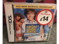 High School musical DS game - 50p