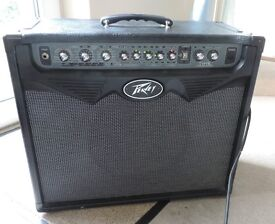 Peavey Vypyr 75watt modelling guitar amp combo with Sanpera foot pedal