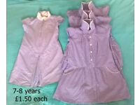 Girls clothes: school uniform age 7 , 7-8 and 8