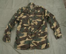 Indian Army Paratrooper / Commando - Brush Stroke Camo - Field Jacket (Large, near new) like M65