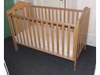 Mamas and Papas cot junior bed