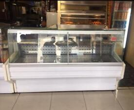 2X Display chiller for takeaway