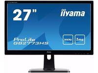 "iiyama 27"" 144hz gaming monitor"