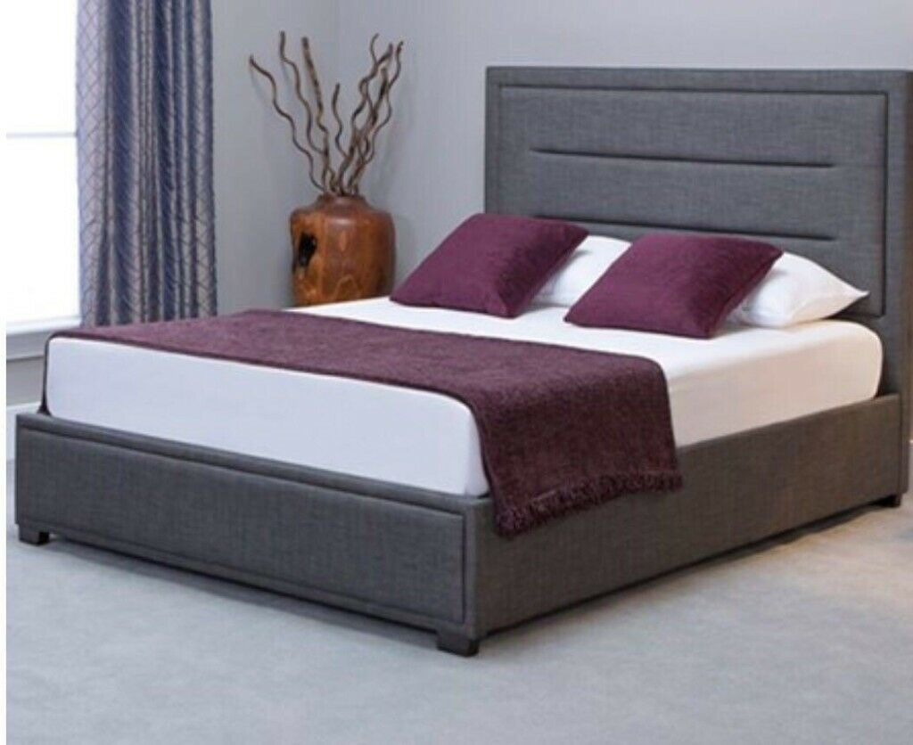 Stupendous Great Sale Offer Kundi Ottoman Storage Fabric Bed In Double King Sizes Ortho Mattress In Grays Essex Gumtree Pdpeps Interior Chair Design Pdpepsorg