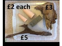 Big clear out fish aquarium tank accessories filters bogwood decor etc. (prices in pics)
