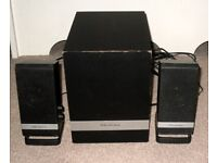 Wharfedale S21196A 2.1 PC Speaker System 20W RMS