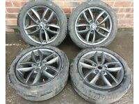 Set of Mini Countryman Alloy Rims and Tyres