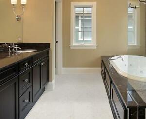 Waterproof Cork Flooring Tiles For Bathrooms / Kitchens- Order Free Sample Today
