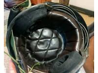 2 Chinese fighter Jet Pilot crash helmets