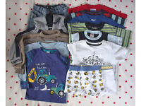 Boys clothes bundle. 14 items. 18 mths – 3 yrs. (Willing to split). £6 ovno.
