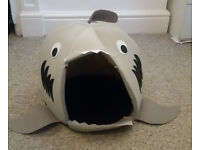 Fun Shark Bed For Small Dog or Cat