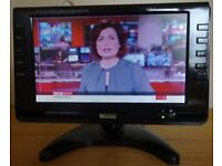 NIKKAI 9 inch LCD -TFTColour Digital TV, Electric & 12v