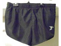 Mens Precision Training Running Shorts. Black. Size 26-28