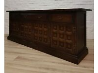 Vintage Oak Sideboard By Younger Furniture (DELIVERY AVAILABLE FOR THIS ITEM OF FURNITURE)