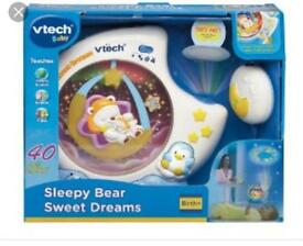 Vtec baby mobile projector and remote
