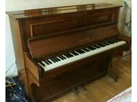 Upright Vintage 1976 Paul Gerard Mahogany Piano