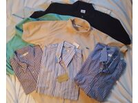 Men's Designer Golf Polo Shirts and Casual Shirts NEW