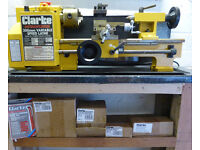 Clarke CL300M Metal Lathe and extra parts