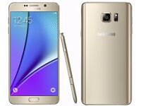 New Samsung Galaxy Note 5, 32GB Smartphone – (UNLOCKED) (PHONE ONLY) A+