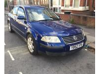wv passat 1.9 tdi 6 speed manual sport blue