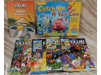 Junior Catch Me if You Can Game - like new and Club Penguin comics /activity book
