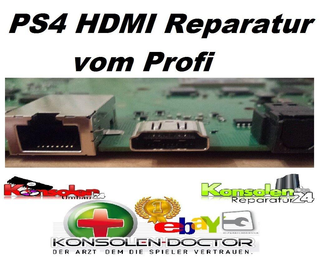 PS4 Playstation 4 HDMI V2 WLOD Port Stecker Buchse Anschluss defekt Reparatur
