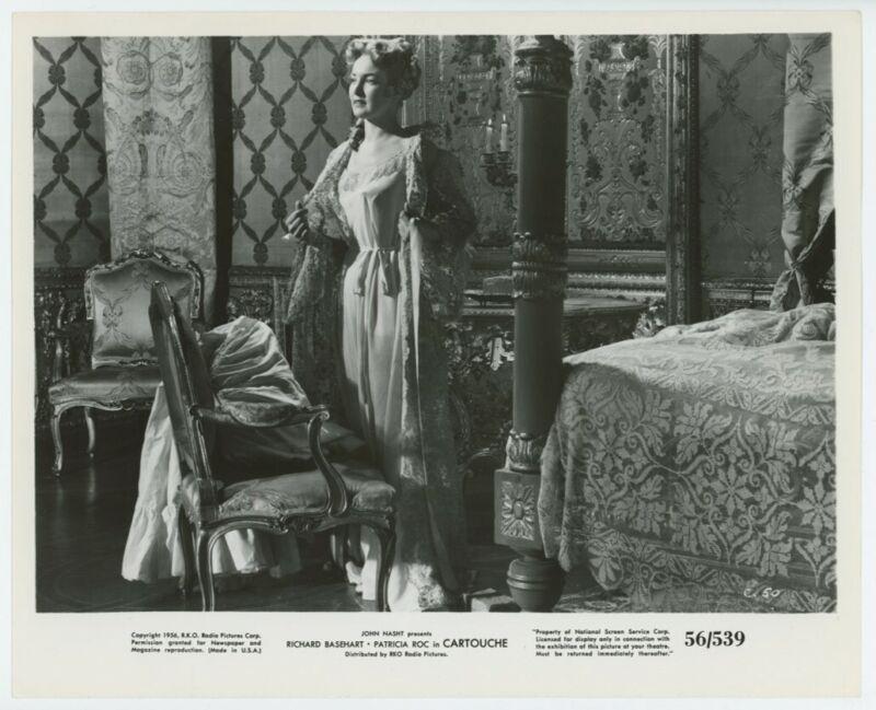 PATRICIA ROC original movie photo 1956 CARTOUCHE