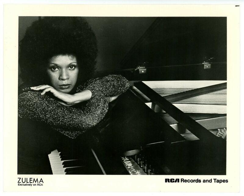 ZULEMA original 1970s RCA publicity photo SINGER