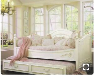 Antique white Girls Bedroom set