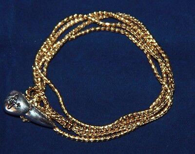 Vivienne Westwood Blake Chain bracelet Goldtone/rhodium  size medium