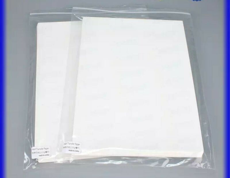 Sheets for polyamide powder Sublimation on cotton. Pack 100 sheets. A4