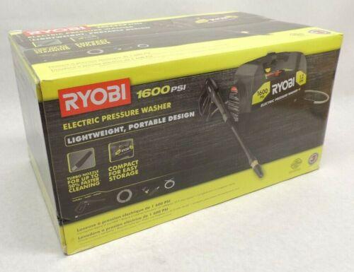RYOBI RY141612VNM 1,600 PSI 1.2 GPM Electric Pressure Washer
