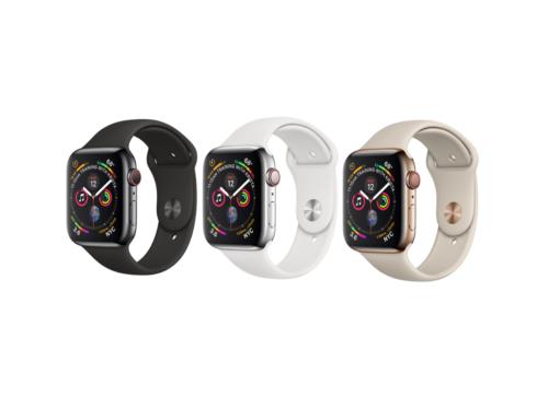 Apple Watch Series 4 (GPS + Cellular) 40mm Stainless Steel Smartwatch