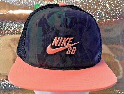 brand new 76325 2de7d NIKE SB Skateboarding YOUTH One Size Snapback Baseball Cap Hat