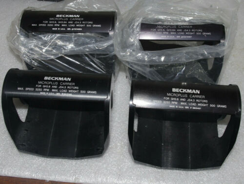 Beckman microplus carrier 3250 rpm GH3.8 GH3.8A JS4.3 Lot of 4