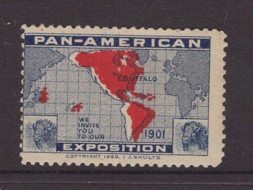 USA Pan American Exhibition Buffalo 1901 cinderella stamp