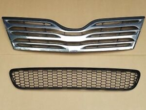 2012 Toyota Venza upper and lower grille