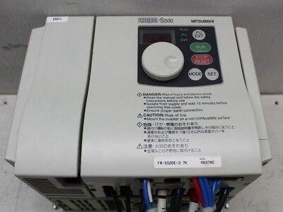 Mitsubishi Freqrol S500 Fr-s520e-3.7k Inverter