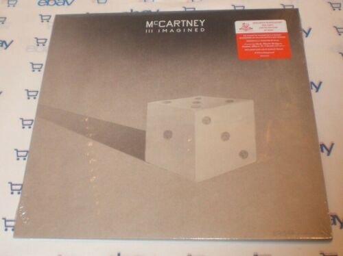 """PAUL MCCARTNEY III IMAGINED 12"""" RED VINYL LP RECORD L/E TO 2000 SEALED BEATLES"""