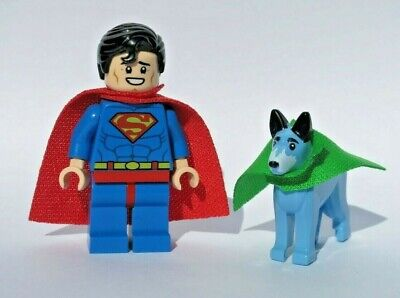 NEW 2)Wonder Dog + Superman Lot 70919 Justice League Super Hero LEGO Minifigure